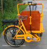 Good Shape Folding Hot Sale Electric Cargo Tricycle for Adult
