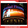 Curve Shaped Advertising Fixed P6 out Door LED Display Screen