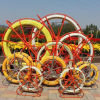 Yellow Fiberglass Duct Rodder for Pulling Cable (11mm 12mm 13mm 14mm)