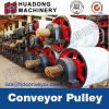 Belt Conveyor Head Pulley with Rubber Lagging