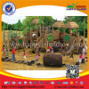 Nature Series Outdoor Playground Equipment with Slide and Swing