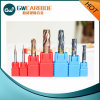 Tungsten Carbide End Mills Altin, Tiain, Tisin, Naco Coating