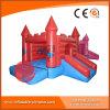 2017 New Design Inflatable Blue Bouncer Castle (T2-217)