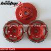 Red Medium Bond Segmented Cup Wheel