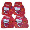 Hello Kitty Latex Car Floor Mat (BT-1702)
