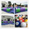 Giant Billiards Inflatable Snooker Ball Game/Outdoor Inflatable Snooker Pool for Snook Ball Game for Sale