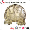 Promotional Customized Designs Antique Brass Die Cut Anniversary Memento Gifts for 911 Event