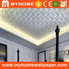 Popular TV Background PVC Interior Paintable 3D Wall Panel for Ceiling