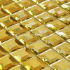Gold Mosaic Tile Diamond Mirror Mosaic (HD043)