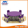 Preschool Furniture Round Plastic Table Indoor Playground