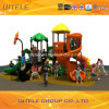 Amusement Park Outdoor Playground Equipment with Plastic Slide (KSII-20301)