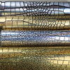 Metallic Emboss Furniture PVC Leathers for Bag and Decorative (HJ004#)