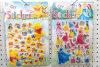 New Style Movie Characters Sponge Sticker, 3D Cartoon Stickers