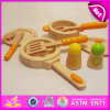 Role Play Wooden Kitchen Set Kids Cooking Play Set Toys, Wooden Funny Cooking Play Set Toys for Wholesale W10b130