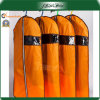 Orange Bag Clear Window Quality Wetproof Dress Bags