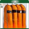 Orange Bag Clear Window Quality Wetproof Dress Bags