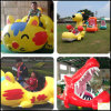 Animal Model Grass Inflatable Electric Car for Kids