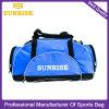 Waterproof Blue Sports Duffel Weekend Travel Tote Bag for Travelling