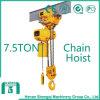 2016 Shengqi 7.5 Ton Electric Chain Hoist with Hook Block