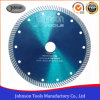 180mm Sintered Turbo Saw Blade with Hot Pressed for Stone