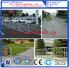 White Powder Coated Traffic Crowd Control Portable Mobile Barrier