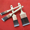 Tapered Solid Filament Paint Brush Set with Wooden Handle