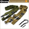 Air-Soft Three Point Rifle Sling Adjustable Bungee Straps for Hunting