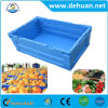 Blue Color Popular Plastic Storage Turnover Box