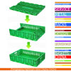 Collapsible Folding Plastic Vegetable Crate for Supermarket