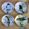 Half-Round Crystal Glass Paperweight for Home Decoration