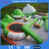 UV Proof Water Sport Games Inflatable Water Amusement Park Island