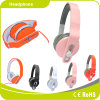 Newest Free Sample Pink Headphone with Good Quality