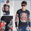 Light Cotton Printed Mask Black Comfortable Fashion Clothes