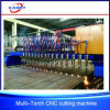 Gantry Multi Torch Sheet Metal/Steel Plate/Flat Bar CNC Plasma Flame Cutting Machine
