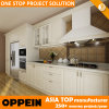 Oppein 7 Days Delivery White PVC Kitchen Furniture (OP14-K001)