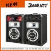 Plastic Speaker Box Audio Equipment Cabinet Loud Speaker (XD6-6025)