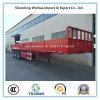 3 Fuwa Axles Utility Cargo Trailer Side Wall Semi Trailer