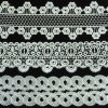 Lace Trim, Computer Machine Embroidered Trim for Wedding Hml075