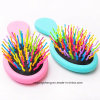 Mini Brush Cushion Brush with Rainbow Pins for Baby or Women 2383