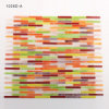New Design Iridescent Glass Mosaic Tiles for Kitchen Walls Borders