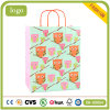 Lovely Owl Children Art Coated Gift Paper Bags