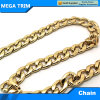 Gold Flat Decorative Chain