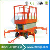 Small Aerial Mobile One Man Scissor Lift/Home Cleaning Elevator Alumium Lift/Aerial Personal Lift-Leader