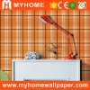 Washable Wall Covering with Colorful Design