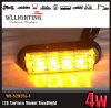 LED Surface Mounting Strobe Warning Light 18 Flash Patterns
