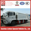 12 M3 Garbage Compactor Truck Refuse Tranportation High Quality Rubbish Compactor