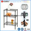 Adjustable Chrome Light Duty Free Standing Shelving (LD603575B3E)