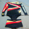 Metallic Shiny Cheerleading Uniforms