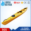 PE Hull 5.5m Length 2 Seat Sea Kayak with Sm Rudder Control