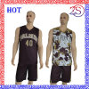 Customize High Quality Reversible Sublimation Basketball Uniforms New Design for 2016